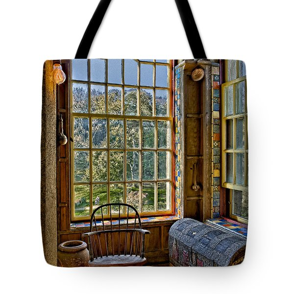 Castle Office Tote Bag by Susan Candelario