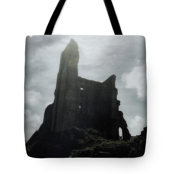 Castle Ruin Tote Bag by Joana Kruse