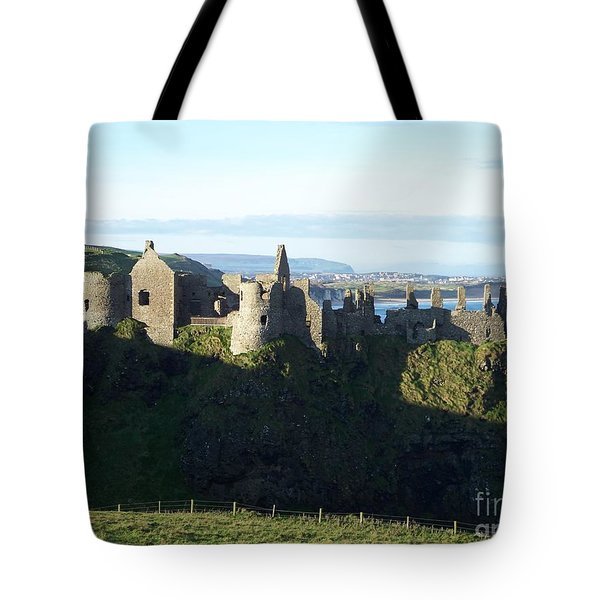 Castle Ruins Tote Bag