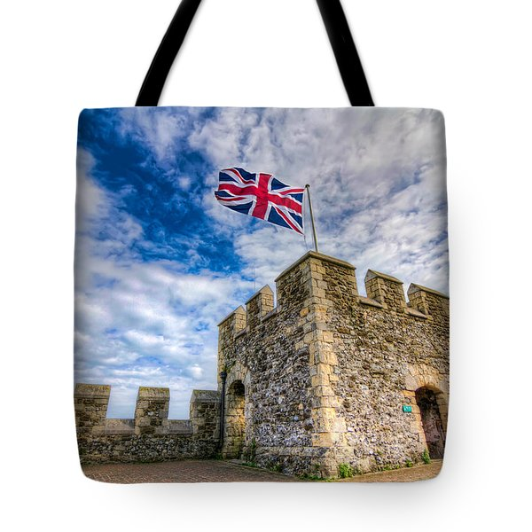 Castle Top Tote Bag by Tim Stanley