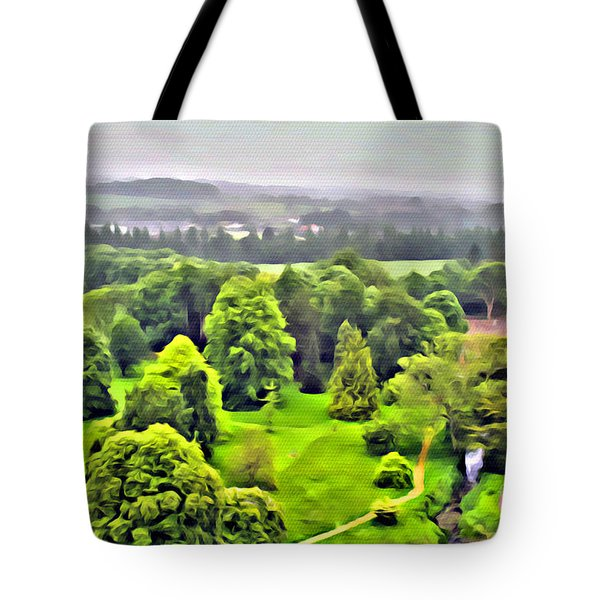 View From The Castle Tote Bag