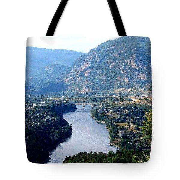 Castlegar- British Columbia Tote Bag