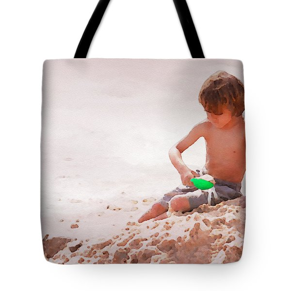 Castlemaker Tote Bag by Alice Gipson