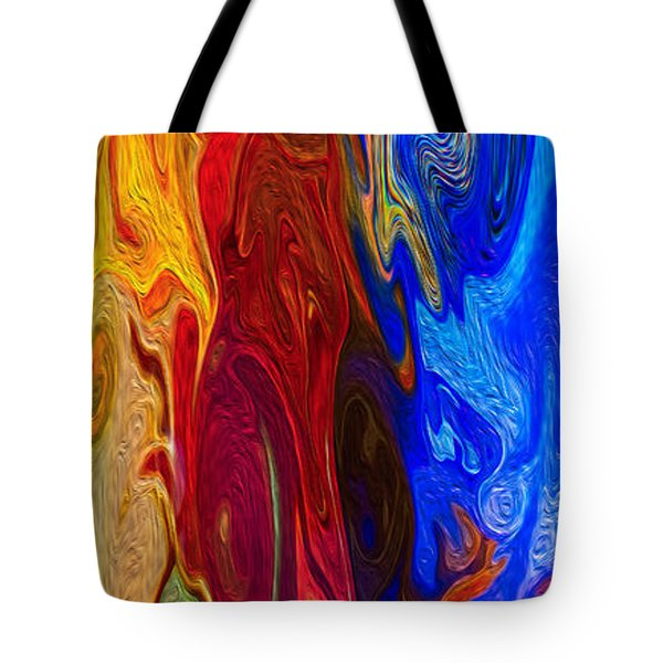 Castles Made Of Sand II Tote Bag by Omaste Witkowski