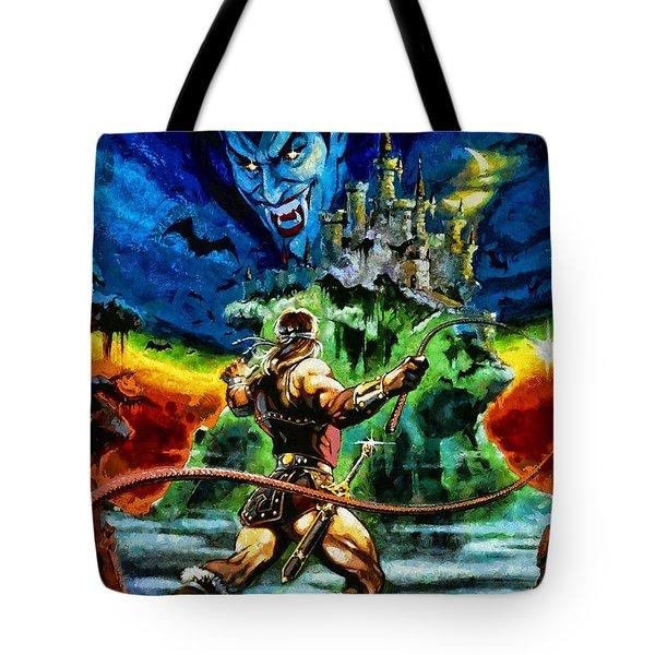 Castlevania Tote Bag