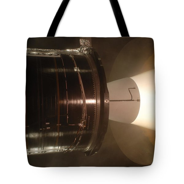 Tote Bag featuring the photograph Castor 30 Rocket Motor by Science Source