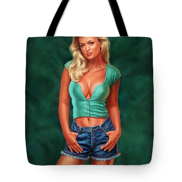Casual Beauty Tote Bag