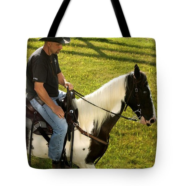 Casual Ride Tote Bag