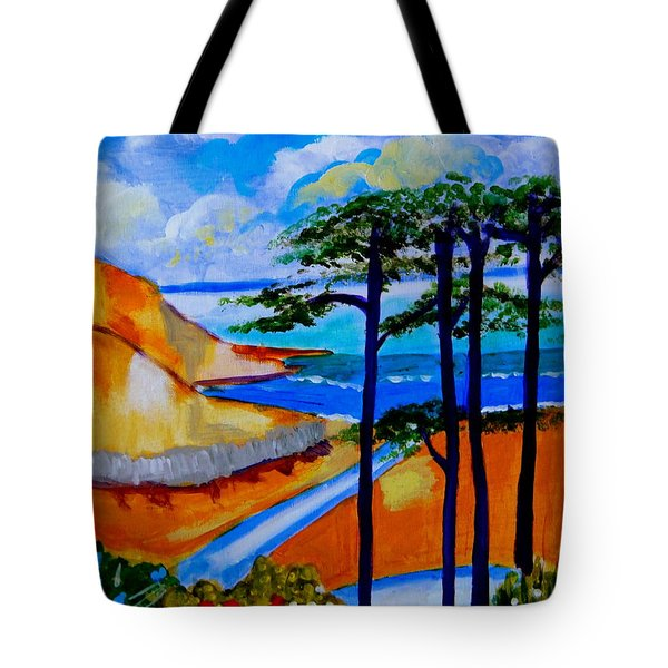 Caswell Bay Wales Tote Bag