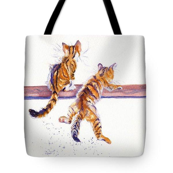 Cat-astrophe Tote Bag