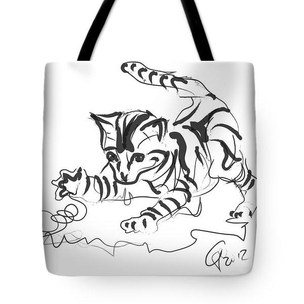 Cat- Cute Kitty  Tote Bag