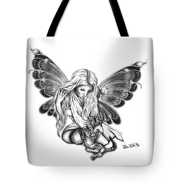 Cat Fairy  Tote Bag