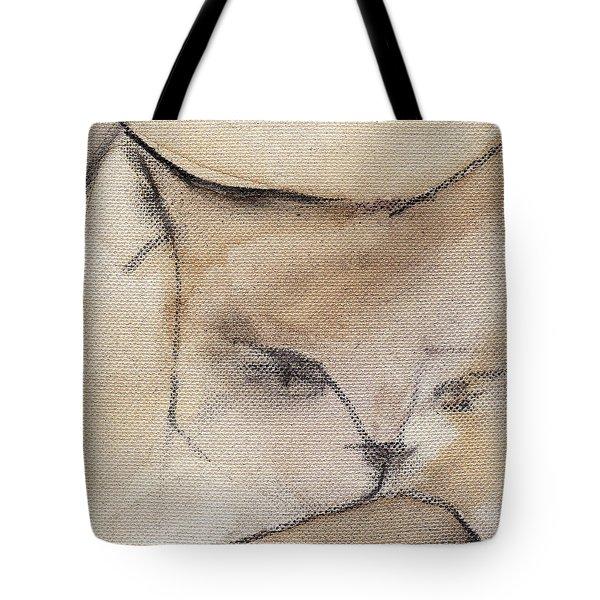 Cat In Wine 3 Tote Bag