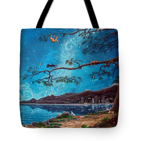 Cat Island Tote Bag