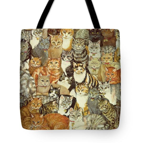 Cat Spread Tote Bag