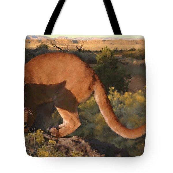 Cat Stretch Tote Bag