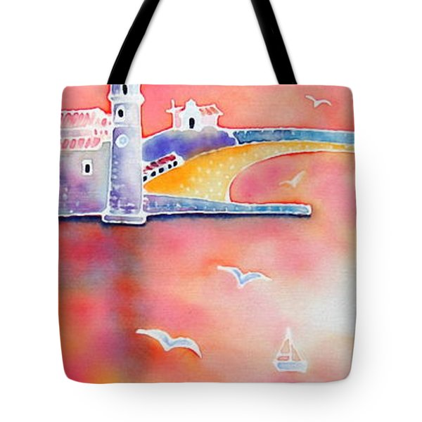 Catalan Sunset Tote Bag