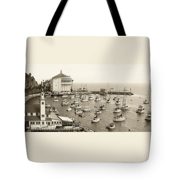 Catalina Island. Avalon Tote Bag