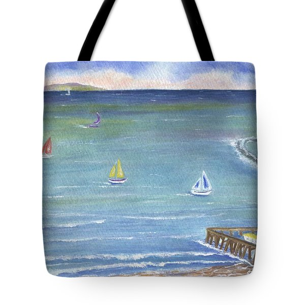 Catalina To Redondo Tote Bag by Jamie Frier