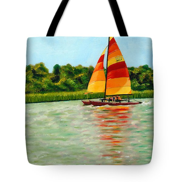 Catamaran  Tote Bag
