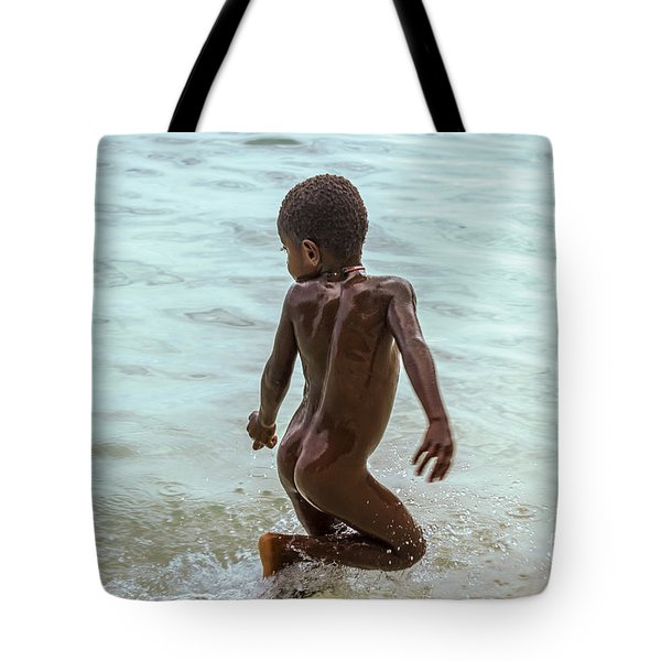 Catch Me If You Can Tote Bag by Jola Martysz