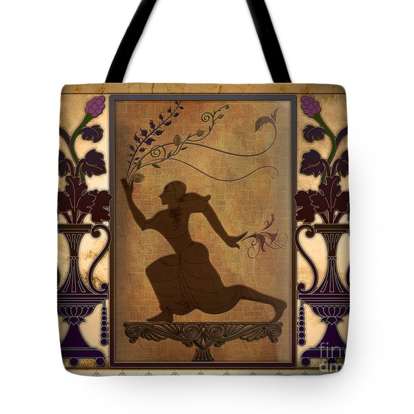 Catch My Flowers Tote Bag