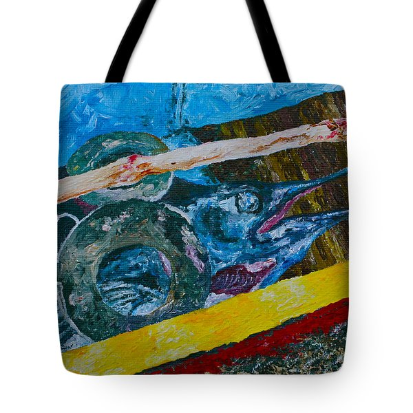 Catch Of The Day 3 Tote Bag