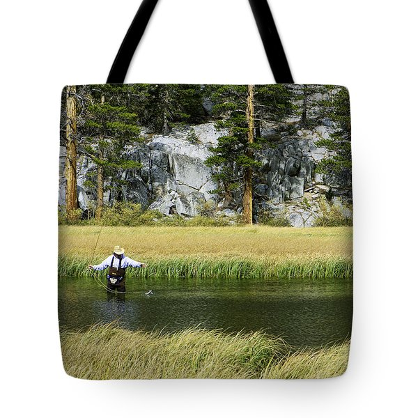 Catch Of The Day - Eastern Sierra California Tote Bag