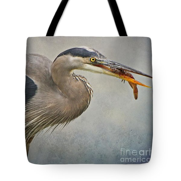 Catch Of The Day Tote Bag by Heather King