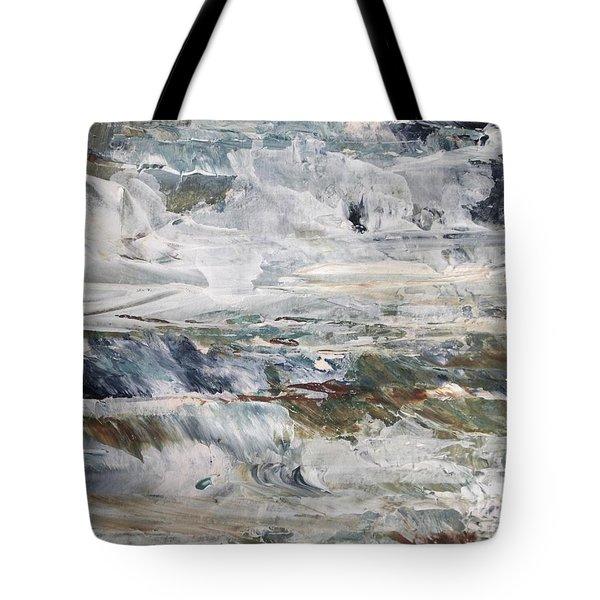 Catch The Spray Tote Bag by Nancy Kane Chapman