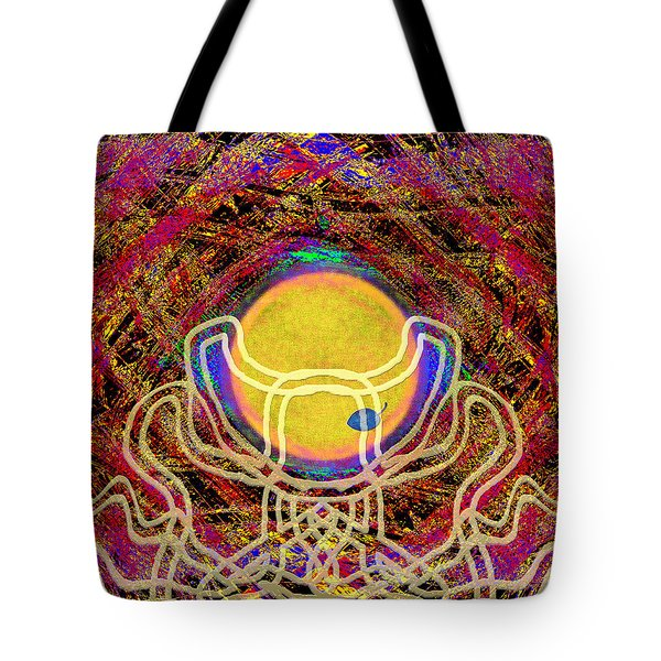 Catch The Sun Tote Bag by Mathilde Vhargon