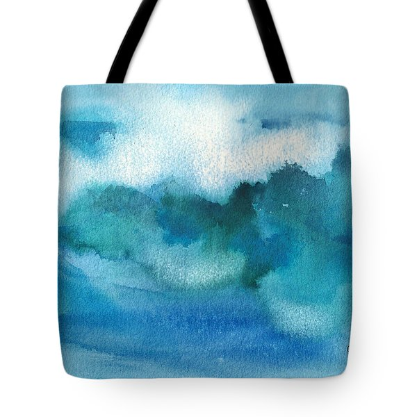 Catch The Wave Tote Bag by Joan Hartenstein