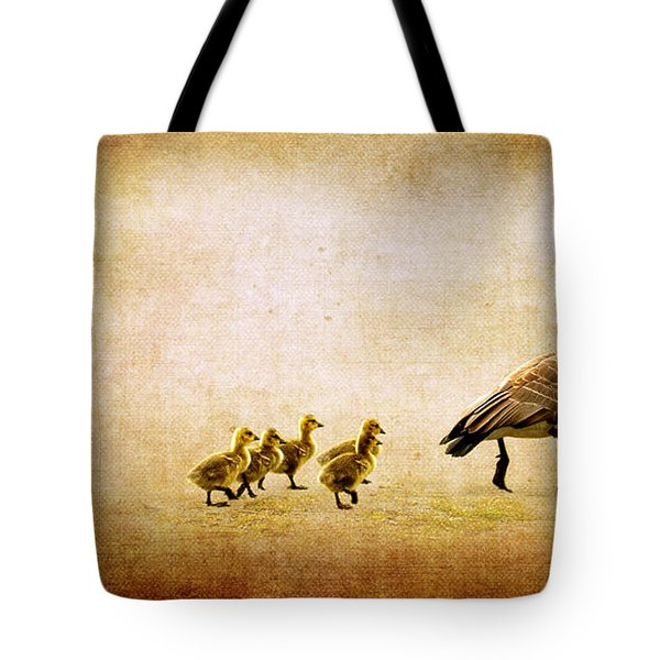 Catch Up Little Gosling Tote Bag