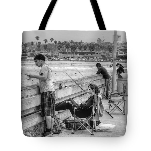 Catching More Than Fish Tote Bag