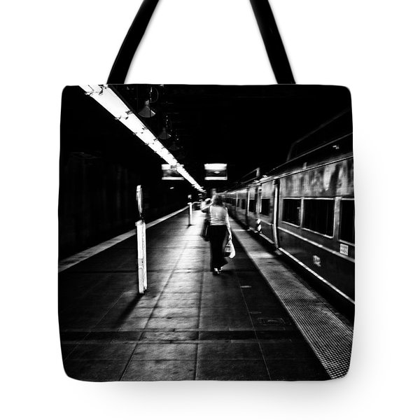 Catching The Five Thirty Tote Bag by Karol Livote