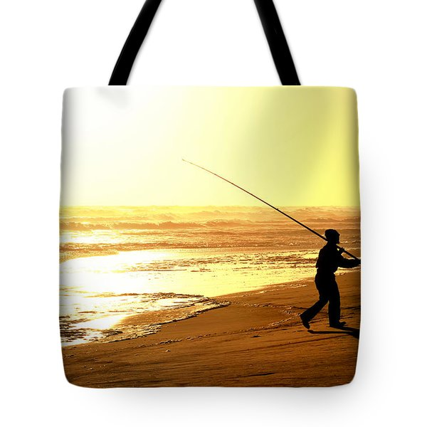 Catching The Last Rays... Tote Bag by A Rey
