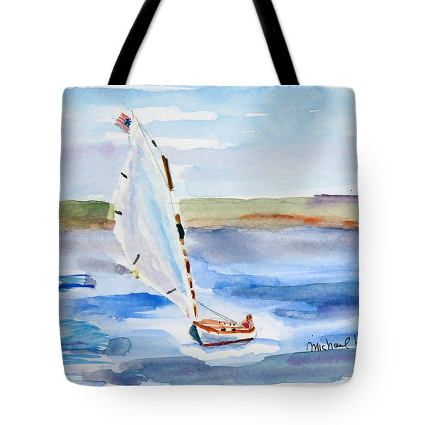 Catching The Wind Tote Bag