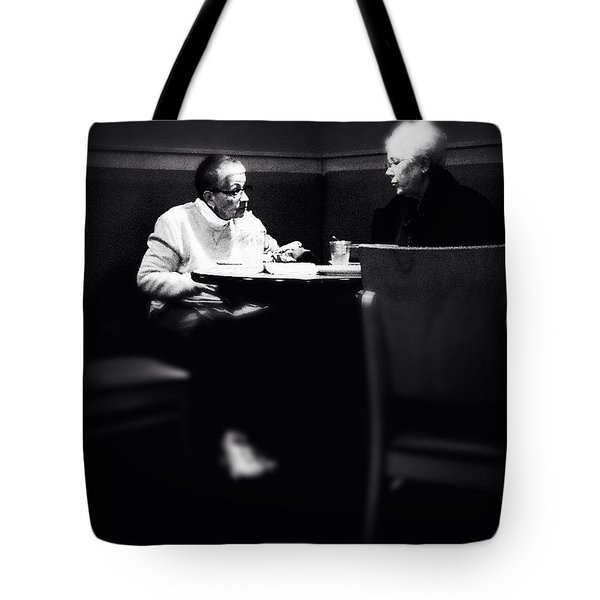 Catching Up Tote Bag