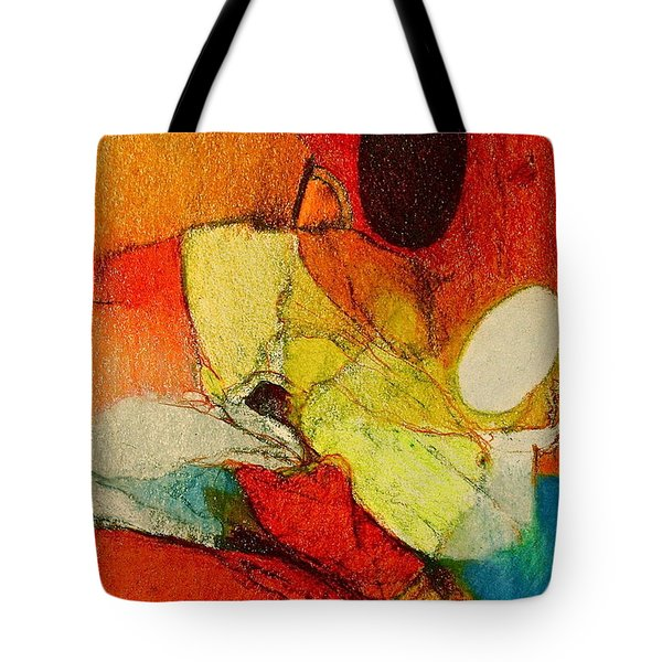Tote Bag featuring the drawing Caterpillar  Vision by Cliff Spohn
