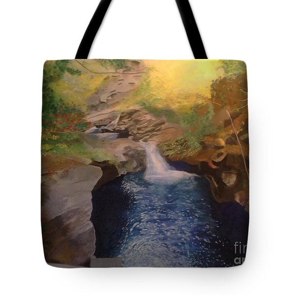 The Dark Gorge Tote Bag