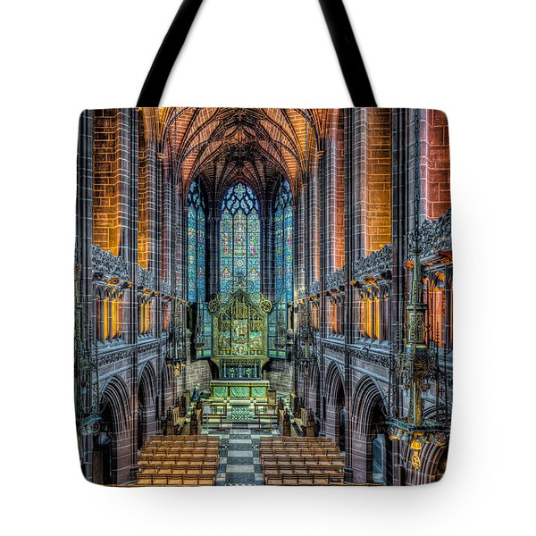 Cathedral Chapel Tote Bag by Adrian Evans