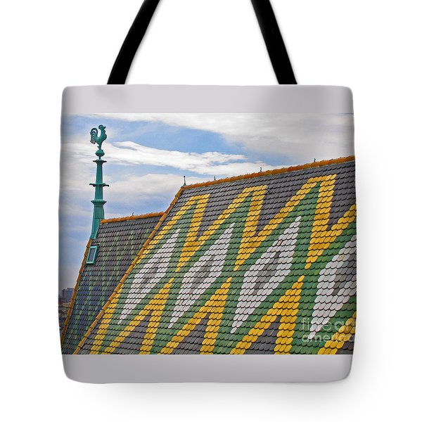 Cathedral Cock Tote Bag by Ann Horn