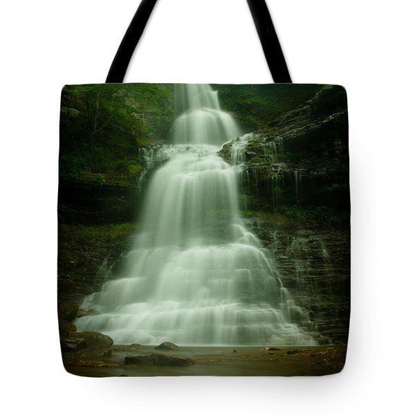 Cathedral Falls Tote Bag