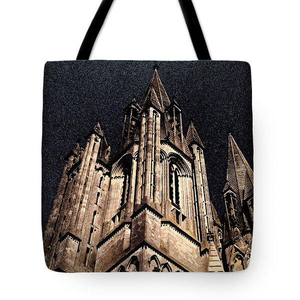 Tote Bag featuring the photograph Cathedral In The Sky by Mary Bedy