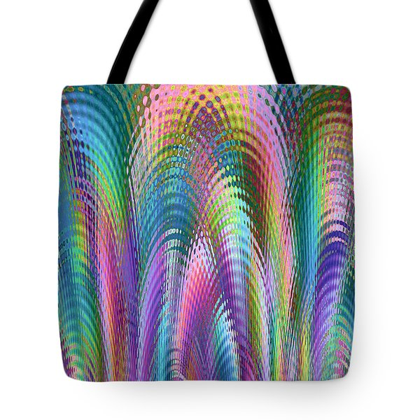 Tote Bag featuring the digital art Cathedral by Mariarosa Rockefeller