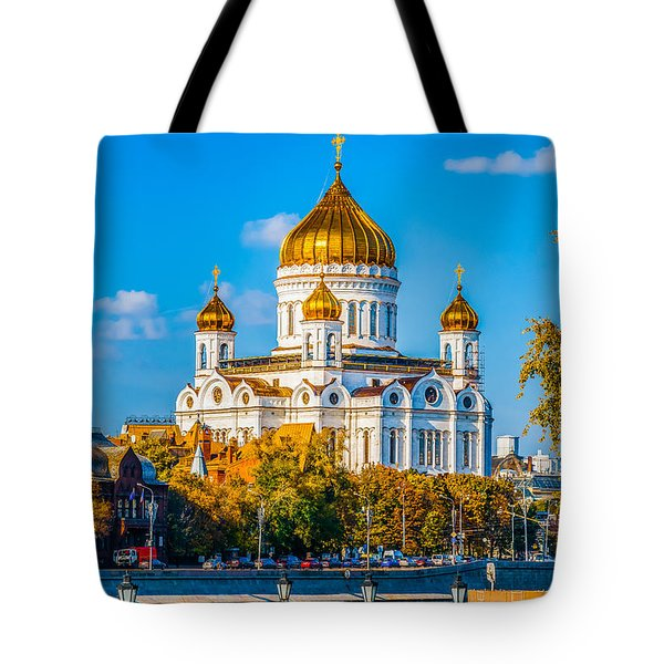 Cathedral Of Christ The Savior - 1 Tote Bag