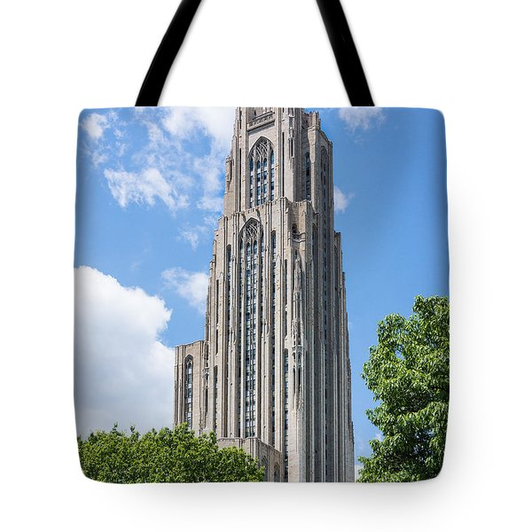 Cathedral Of Learning - Pittsburgh Pa Tote Bag