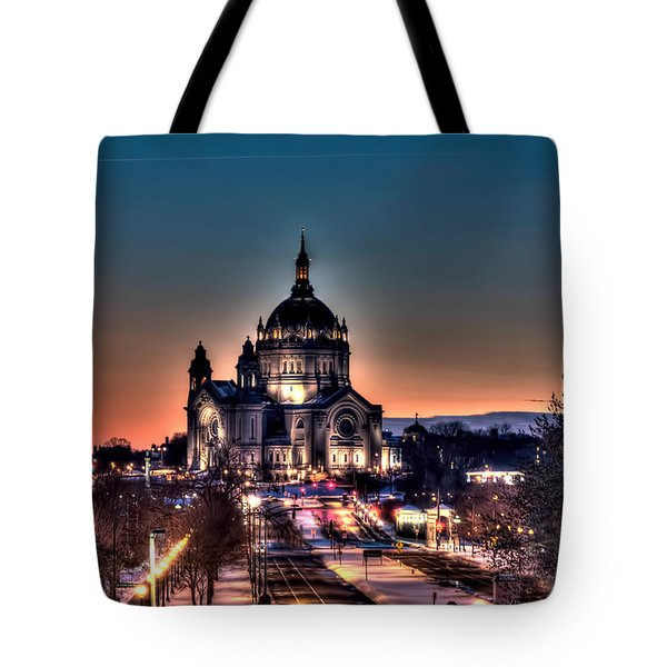 Cathedral Of Saint Paul Tote Bag