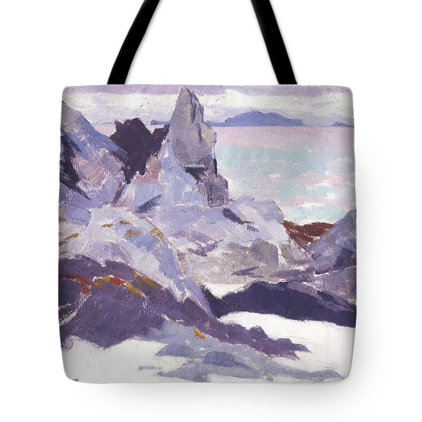 Cathedral Rock  Iona Tote Bag by Francis Campbell Boileau Cadell