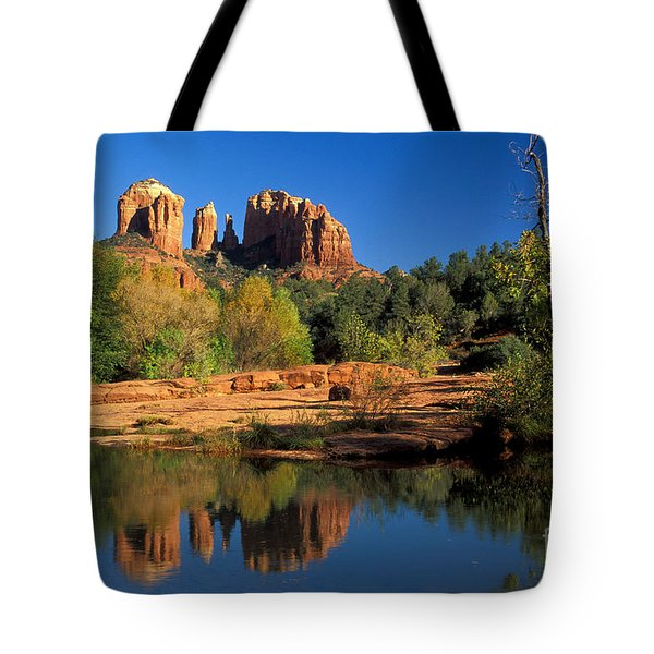 Cathedral Rock Tote Bag by Mark Newman